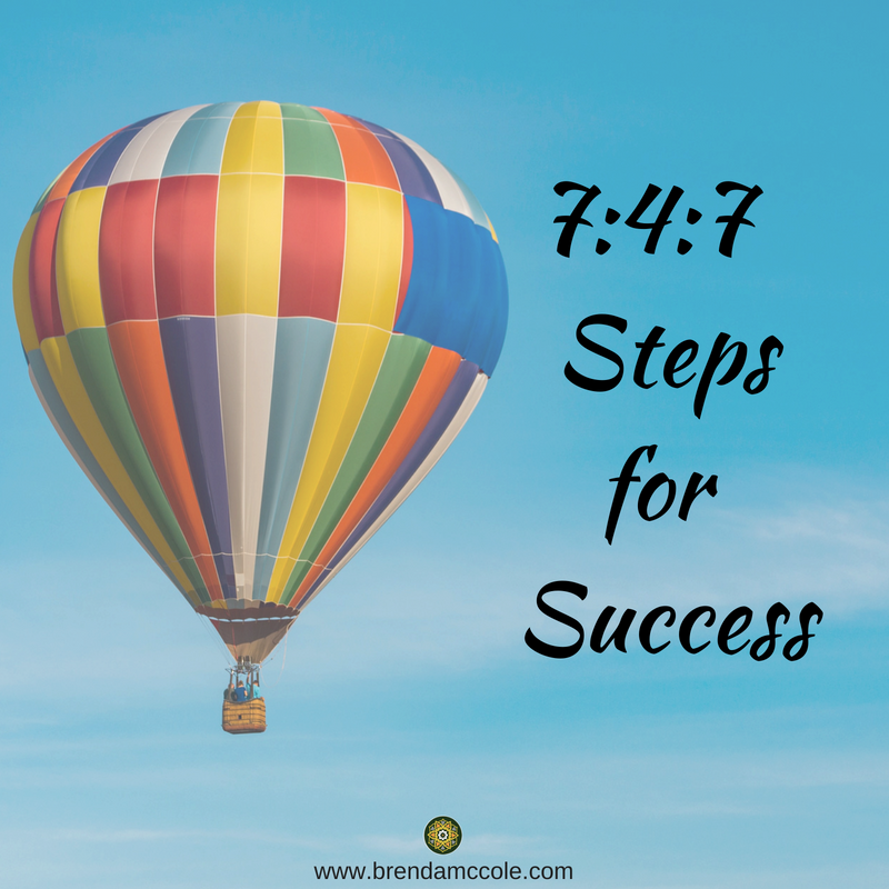 7-4-7 Steps To Success